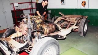 Nissan восстановил легендарный Patrol для ралли «Париж – Дакар»