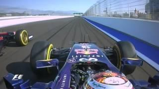 F1 Classic Onboard: 2014 Russian Grand Prix, Sebastian Vettel's Opening Lap
