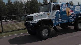 КАМАЗ 43509   Дебют на ралли рейде Золото Кагана 2016 КАМАЗ Мастер
