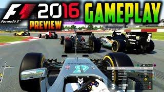 F1 2016 PS4 Gameplay: SILVERSTONE RACE (F1 2016 Direct Capture Gameplay)
