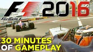 F1 2016 - 30 Minutes of GAMEPLAY
