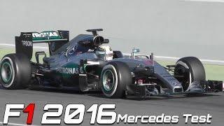 Formula 1 2016 Mercedes Sound - Hamilton vs Rosberg (F1 Barcelona 2016)