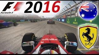 F1 2016 Mod Gameplay: Sebastian Vettel at Melbourne