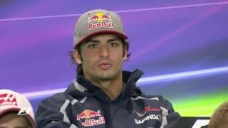Drivers Face The Press | Mexico Grand Prix 2016