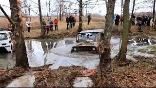 Гонки по бездорожью. УАЗ рулит./ Off-road racing. UAZ taxis.