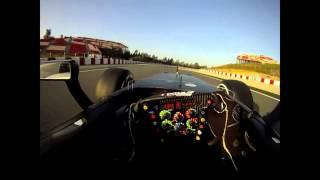Formula 1 in cockpit Gopro HD Camera with Luca Di Grassi Toyota Motorsport Group