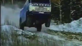 6x6 Truck KAMAZ Tuning Paris Dakar Extreme Off-road Racing