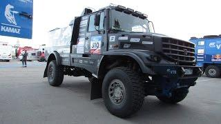 New KAMAZ MASTER Dakar Rally Raid truck with hood - Капотный Камаз