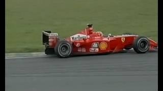F1 Brazilian GP Interlagos 2001 - Juan Pablo Montoya vs Michael Schumacher!
