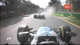 Формула 1  АВАРИЯ  Алонсо vs Гутьеррес Гран при Австралии 2016