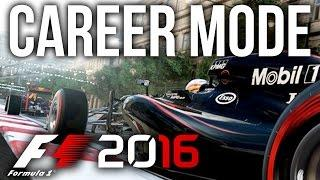 F1 2016 CAREER MODE PART 1 - Practice & Qualifying (F1 2016 Gameplay PS4/Xbox One)