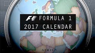 Formula 1 2017 Season | Official Race Calendar & Dates