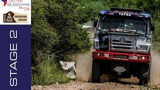 TATRA BUGGYRA RACING on DAKAR 2016 - Stage 2