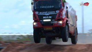 Dakar 2017 - Arrival in Paraguay (Eurol VEKA MAN Rally Team)
