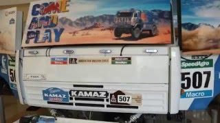 Амир и Тимур на Камазе ралли Париж Дакар Amir Timur and KAMAZ Rally Paris Dakar
