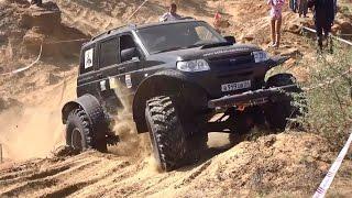 █ По бездорожью. Горный УАЗ Патриот, Ч-1. Sand storm 2014 off-road race (по внедорожью).