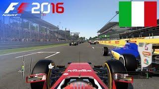 F1 2016 - 100% Race at Autodromo di Monza, Italy in Räikkönen's Ferrari