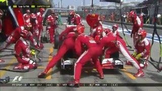 Formula 1 2016 - Chinese Grand Prix Race Highlights