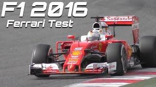 Formula 1 2016 Ferrari Sound - Best of F1 test Vettel vs Kimi