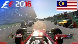 F1 2016 - 100% Race at Sepang International Circuit, Malaysia in Vettel's Ferrari