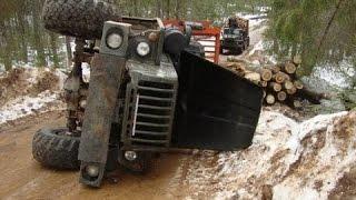 Бездорожье Российских грузовиков УРАЛ , Грузовики УРАЛ по бездорожью СЕВЕРА