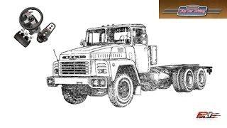 КРАЗ 250, КАМАЗ 54112, КАМАЗ МАСТЕР - тест-драйв, обзор, грузовики City Car Driving АРХИВ