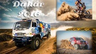 Ралли Дакар-2016 Лучшие и красивые моменты гонки!