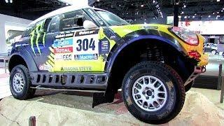 2014 Mini Cooper All 4 Racing Rally Car - Paris Dakar Winner - Exterior Walaround -2014 NY Auto Show
