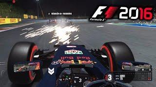 F1 2016 Gameplay: SPARKS!!! BAHRAIN DAY v NIGHT