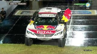 Rally Dakar 2017 - Largada - Orly Terranova y Sebastian  Loeb