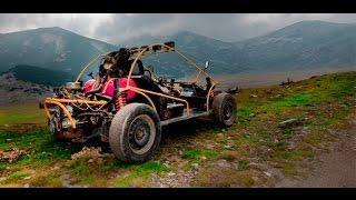 Внедорожники Багги - Экстримальные Гонки и Подъем на Гору по Бездорожью 4х4 Offroad Racing Buggy