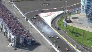 2014 FORMULA 1 RUSSIAN GRAND PRIX - Race Highlights