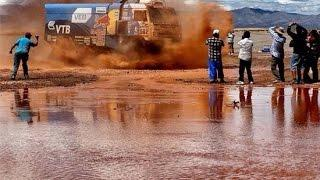 Rally Dakar 2015 trucks Argentina Bolivia Chile